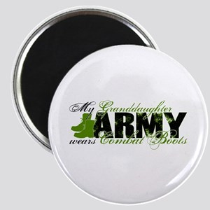 Granddaughter Combat Boots - ARMY Magnet