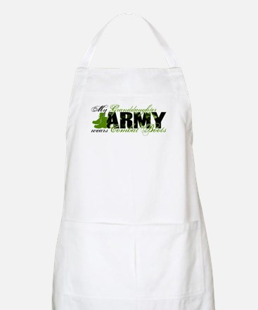 Granddaughter Combat Boots - ARMY Apron