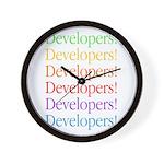 Developers Wall Clock