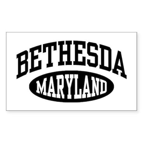 Bethesda Maryland Sticker (Rectangle)