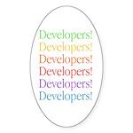 Developers Oval Sticker