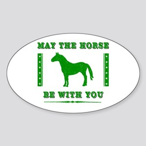 Horse Force Sticker (Oval)