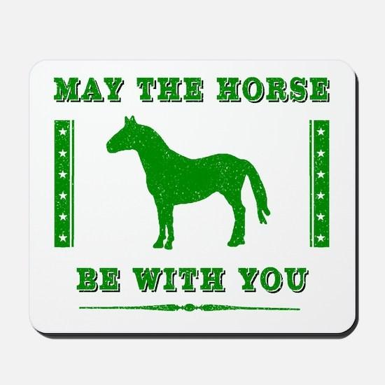 Horse Force Mousepad