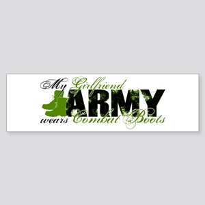 Girlfriend Combat Boots - ARMY Sticker (Bumper)
