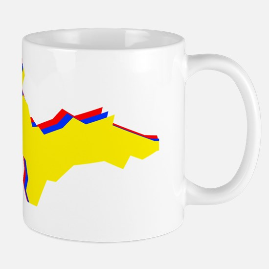 Retro U.P. Rainbow Yooper Mug