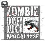 Zombie Honey Badger Puzzle