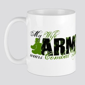 Wife Combat Boots - ARMY Mug