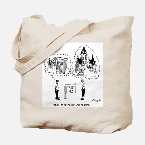 What The Buyer & Seller Think Tote Bag