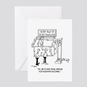 Handling Dissatisfied Customers Greeting Card