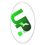U.P. Yooper Sticker (Oval 10 pk)
