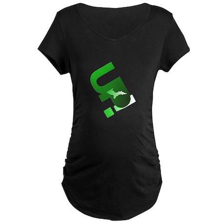 U.P. Yooper Maternity Dark T-Shirt