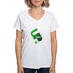 U.P. Yooper Women's V-Neck T-Shirt
