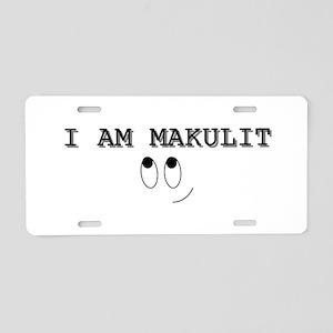 Makulit Aluminum License Plate