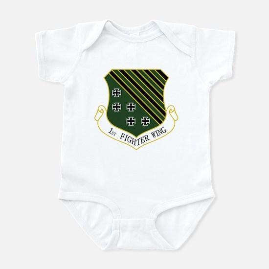 1st Fighter Wing Infant Bodysuit