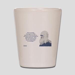 Darwin - Species Shot Glass
