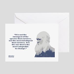 Darwin - Species Greeting Card