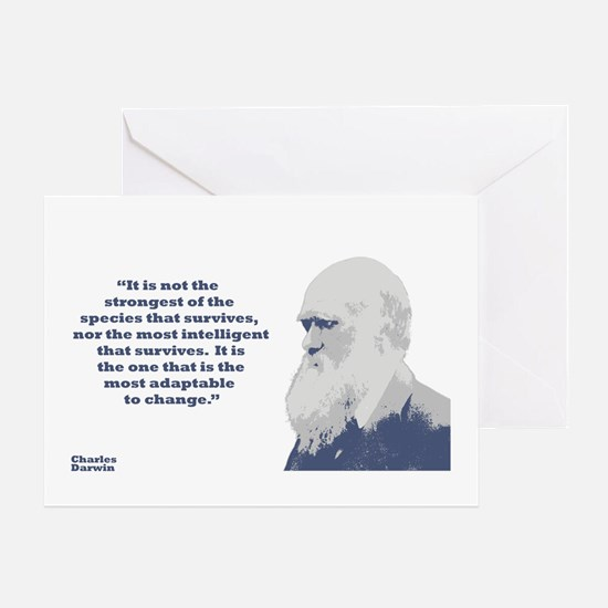 Darwin - Species Greeting Card