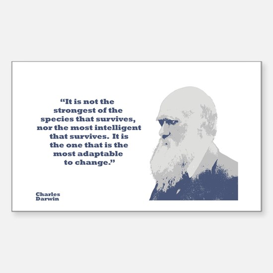 Darwin - Species Sticker (Rectangle)
