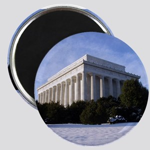 "Lincoln Memorial 2.25"" Magnet (10 pack)"
