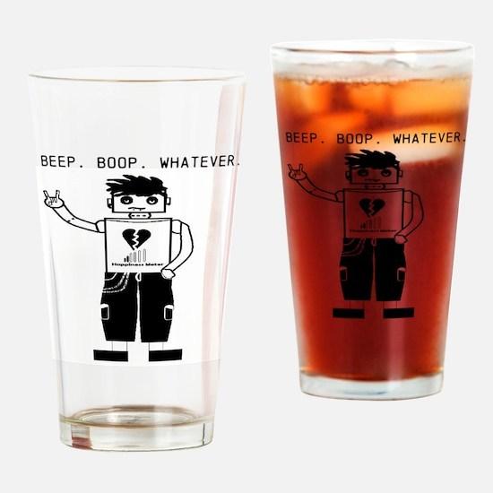 EmoBot Drinking Glass