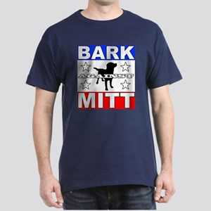 Dogs Against Mitt Romney Bark Against Mitt Dark T-