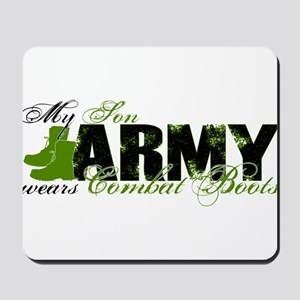 Son Combat Boots - ARMY Mousepad