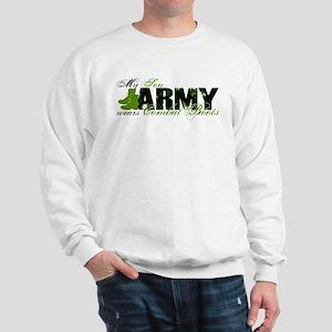 Son Combat Boots - ARMY Sweatshirt