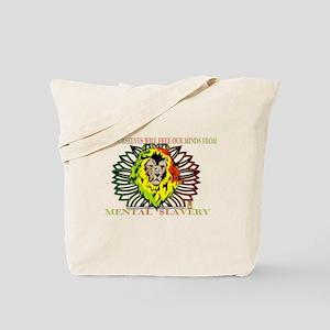 Rasta Lion Tote Bag
