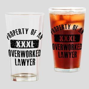 Lawyer designs Drinking Glass