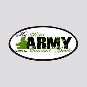 Sister Combat Boots - ARMY Patches