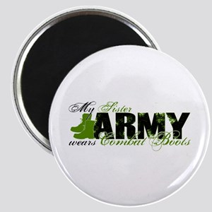 Sister Combat Boots - ARMY Magnet