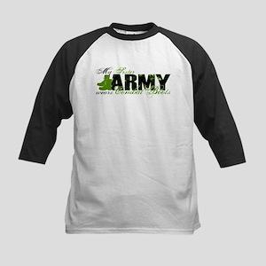 Sister Combat Boots - ARMY Kids Baseball Jersey