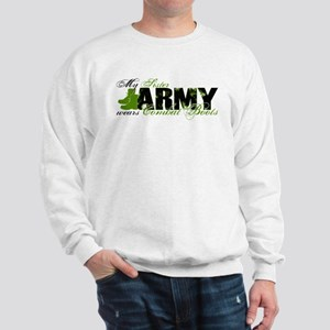 Sister Combat Boots - ARMY Sweatshirt