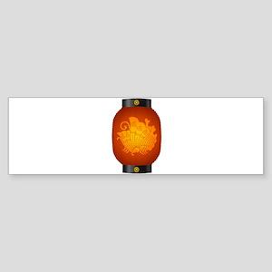 Agehacho chochin3 Sticker (Bumper)