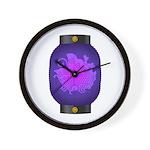 Agehacho chochin4 Wall Clock