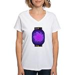 Agehacho chochin4 Women's V-Neck T-Shirt