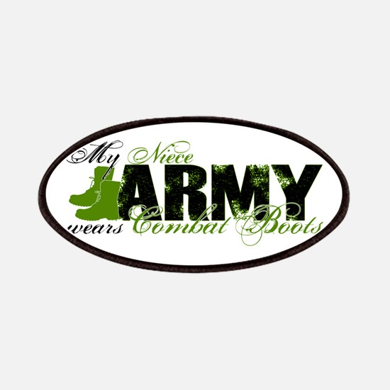 Niece Combat Boots - ARMY Patches