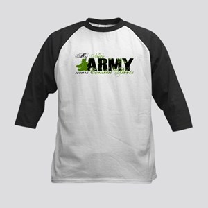 Niece Combat Boots - ARMY Kids Baseball Jersey