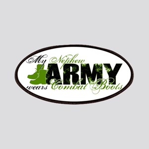 Nephew Combat Boots - ARMY Patches