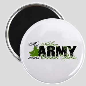 Nephew Combat Boots - ARMY Magnet