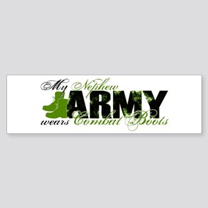 Nephew Combat Boots - ARMY Sticker (Bumper)