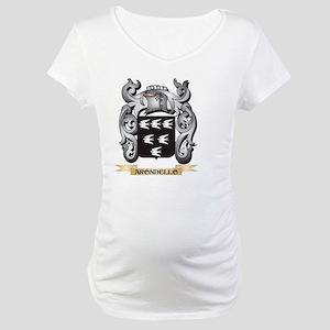 Arondello Family Crest - Arondel Maternity T-Shirt