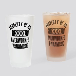 Paramedic designs Drinking Glass