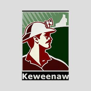 Keweenaw Heritage Rectangle Magnet