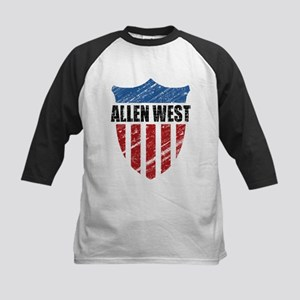Allen West Shield Kids Baseball Jersey