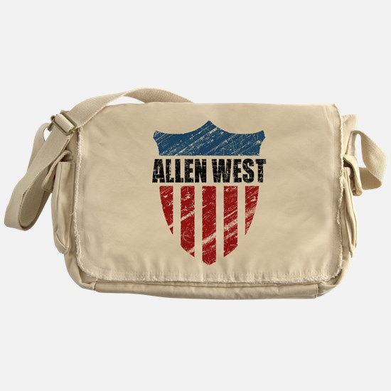 Allen West Shield Messenger Bag