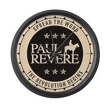 Paul Revere Large Wall Clock