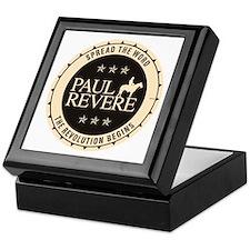 Paul Revere Keepsake Box