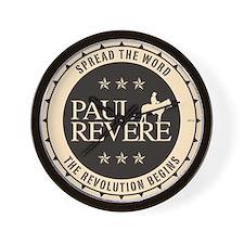 Paul Revere Wall Clock