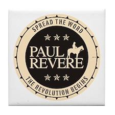 Paul Revere Tile Coaster